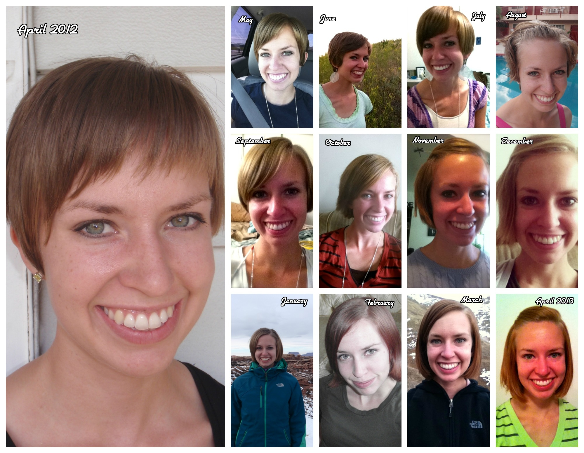 Pixie haircut growing out stages short pixie haircuts leave a reply cancel reply months of growing it out so close to a bob at these pictures and realize that my hair actually has been growing winobraniefo Image collections