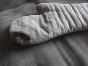 Scorched Oven Mitt